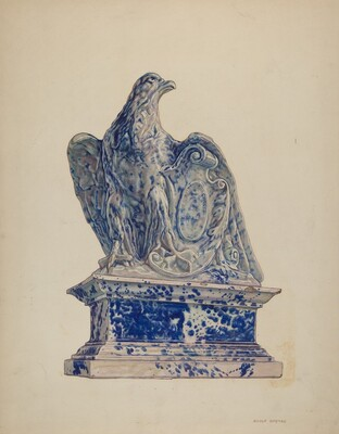 Potpourri Jar: Eagle