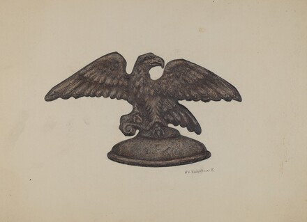 Cast Iron Eagle
