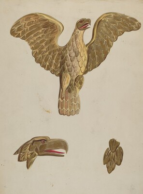 Gilt Eagle
