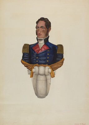 Commodore Morris Figurehead