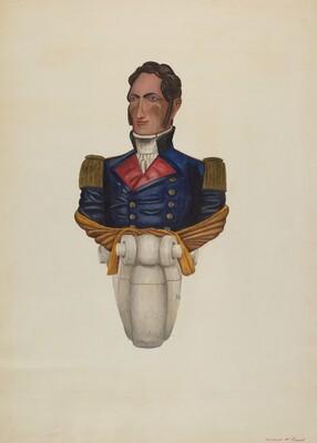 Commodore Morris Figurehead