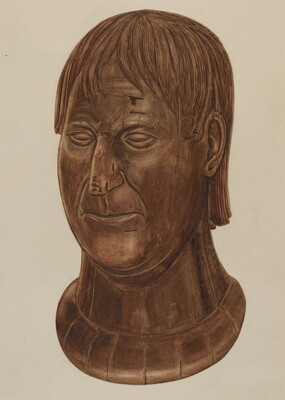 Bust of P.J. Landry