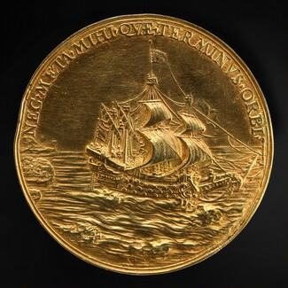 The Juxon Medal: The Dominion of the Seas [reverse]