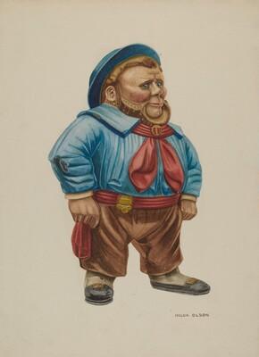 Cigar Store Figure Sailor