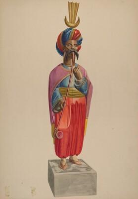 Cigar Store Figure: Turk