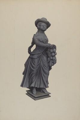Garden Figure Pomona
