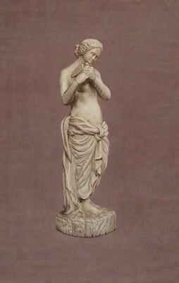 Wooden Garden Figure
