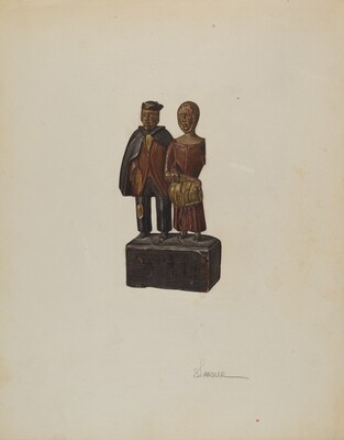 Carved Group: Mennonites Homeward