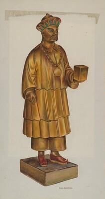 Tea Store Figure