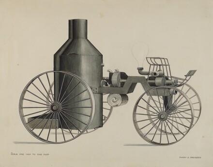 Iron Steam Fire Engine