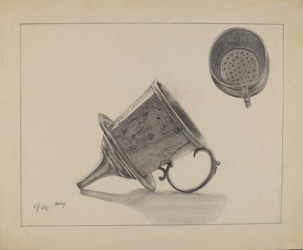 Strainer with Funnel