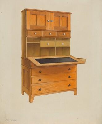 Shaker Secretary Desk