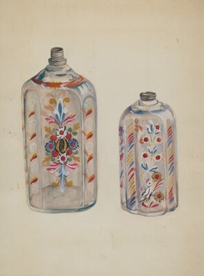 Flint Glass Bottles