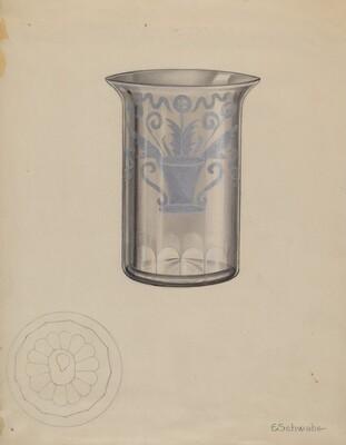 Stiegel Water Tumbler