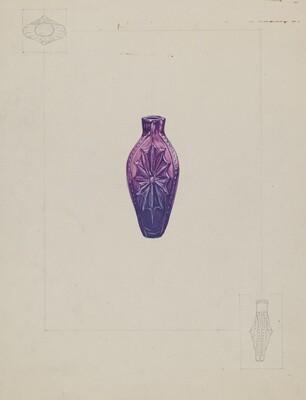 Stiegel Perfume Vial