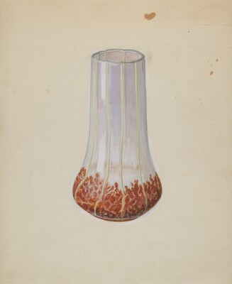 Corn Glass Vase