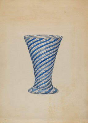 Vase (Blue and White)