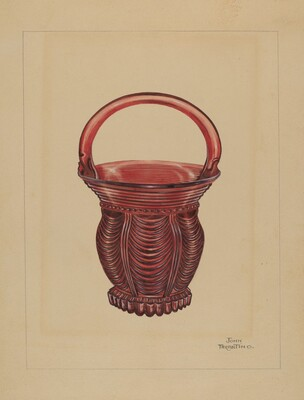 Ornamental Small Basket