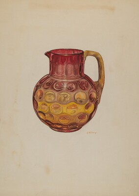 Pitcher (Amberina)