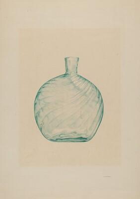 Glass Pocket Flask