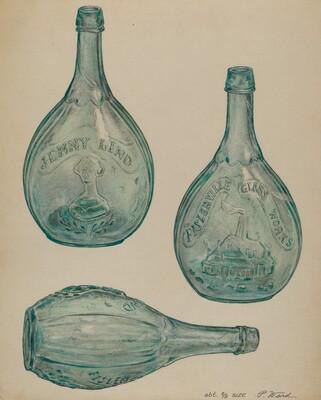 Jenny Lind Bottle