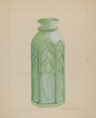 Jersey Milk Bottle
