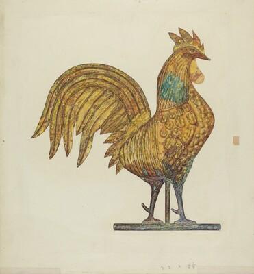 Gilded Weathercock