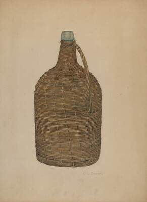 Wicker Demijohn