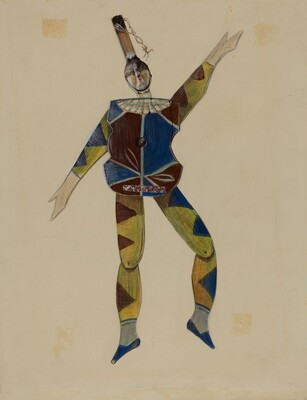 Dancing Doll: Harlequin