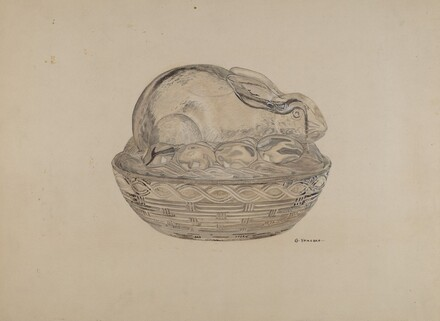 Covered Rabbit Dish