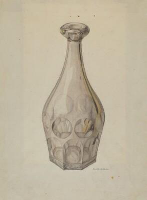 Decanter (Ashberton Pattern)