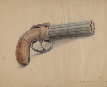 Revolving Pistol