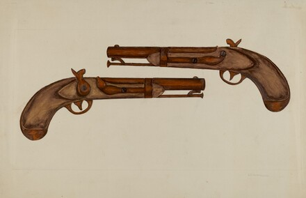 Cap and Ball Revolver