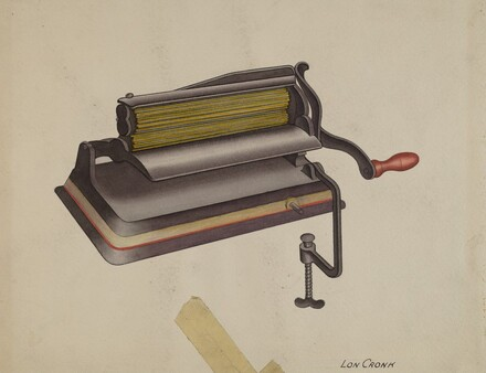Fluting Iron