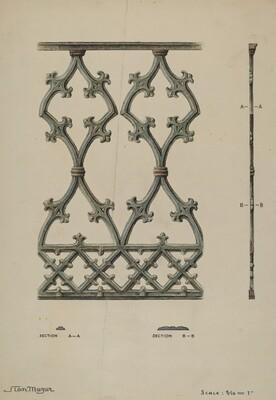 Cast Iron Balcony