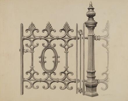 Gate and Gatepost
