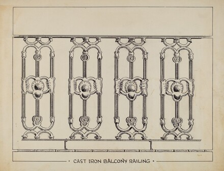 Cast Iron Window Balcony
