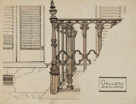 Cast Iron Gallery Rail