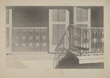 Cast Iron Balcony Rail