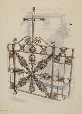 Iron Fence and Railing