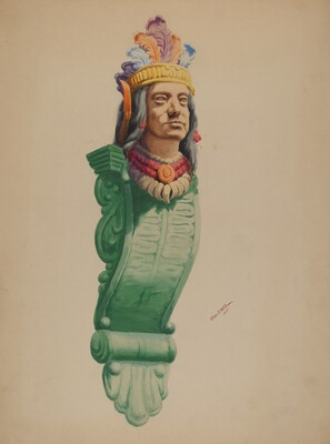 Iron Indian Head