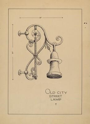 City Gas Light Bracket