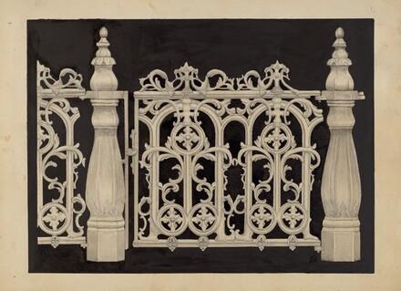 Iron Railing and Gate