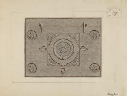 Iron Cellar Door