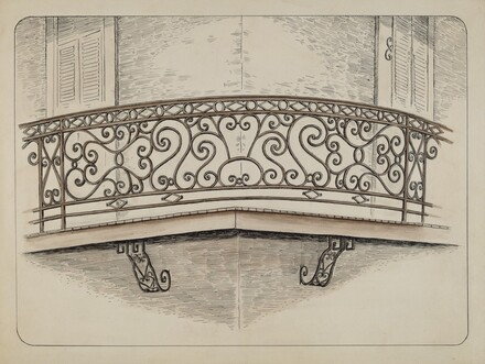 Wrought Iron Balcony