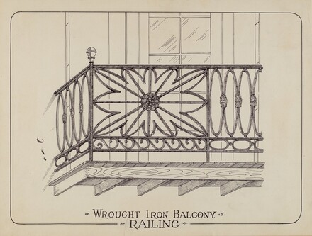 Iron Balcony Railings