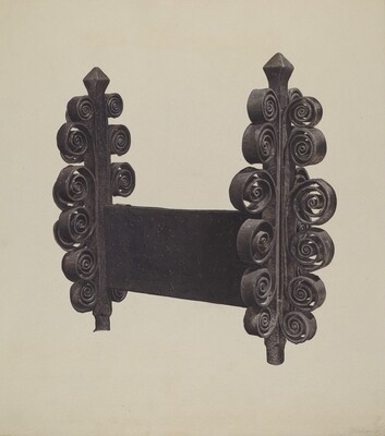 Wrought Iron Ornament