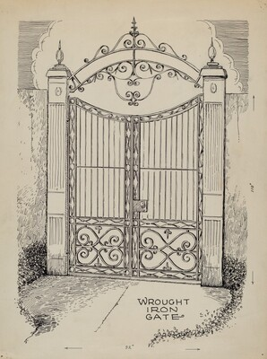 Wrought and Cast Iron Gates