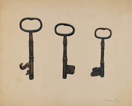 Keys to John Marshall House
