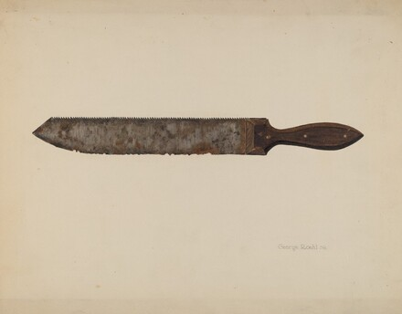 Combination Saw/Knife